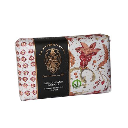 Купить La Florentina, Мыло Pomegranate & Neroli, 270 г