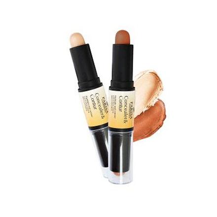 PARISA Cosmetics, Двойной карандаш для контурирования, тон 04 фото