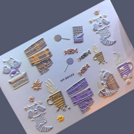 Купить Anna Tkacheva, 3D-слайдер HT №122