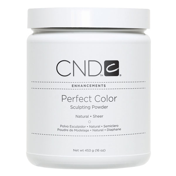 CND, Акриловая пудра Perfect Natural Sheer, 453 гр