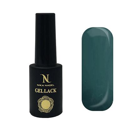 Купить Nika Nagel, Гель-лак Koroleva №126, Зеленый