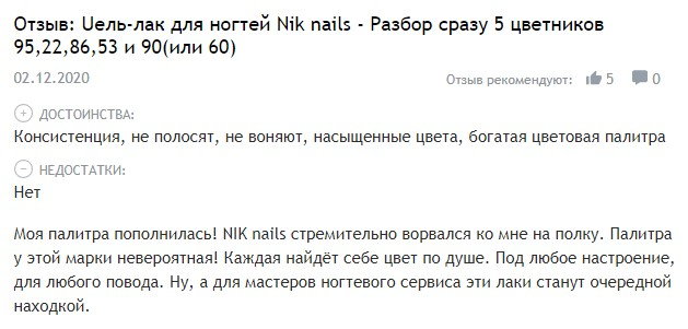 Отзывы о NIK Nails