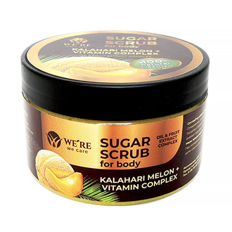 Сахарный скраб для тела