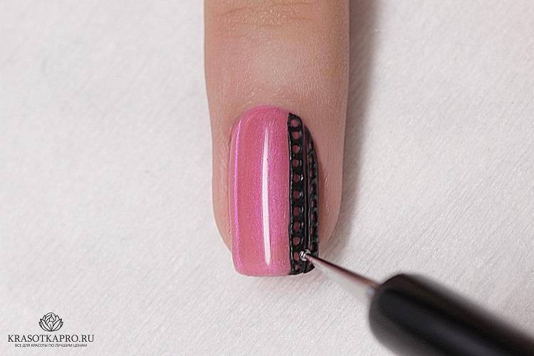 Дизайн ногтей 4д гелем фото