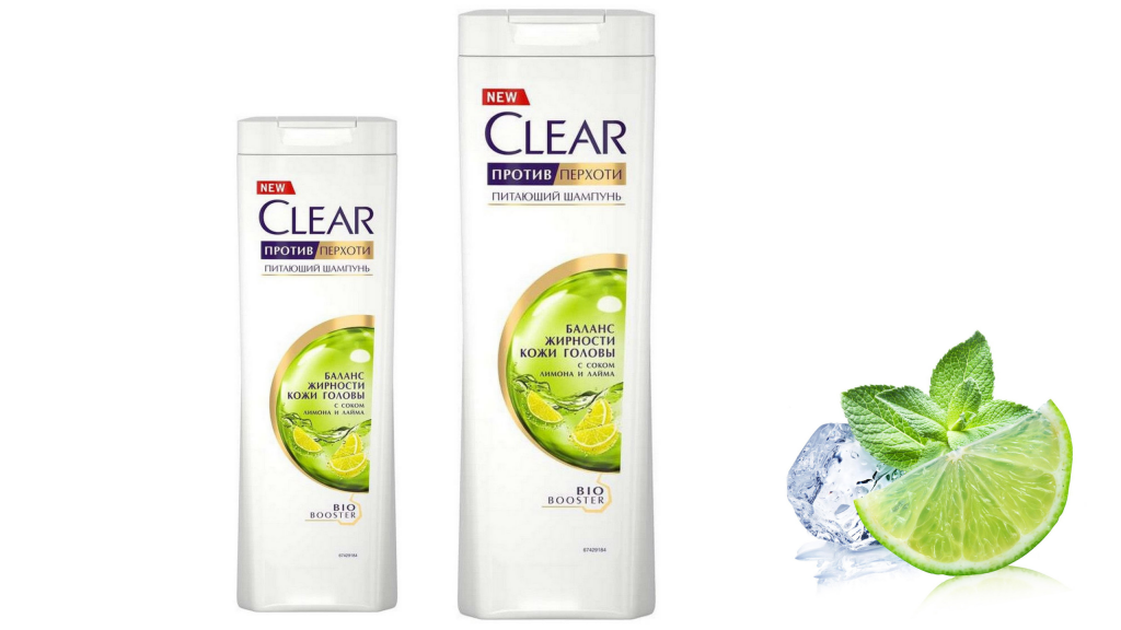 Clear, шампунь Clear vita ABE с цитрусовой эссенцией
