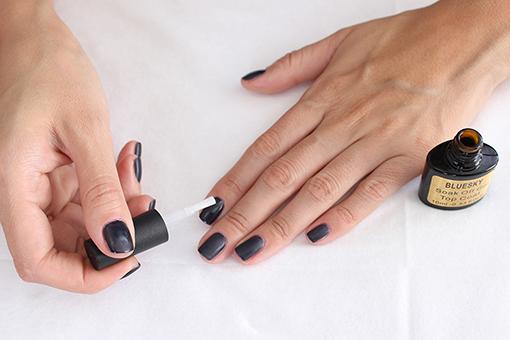 Черный Френч На Ногтях С Рисунком Фото