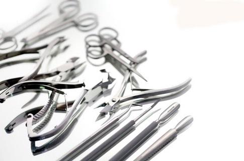 Инструменты по маникюру и педикюру зингер 659