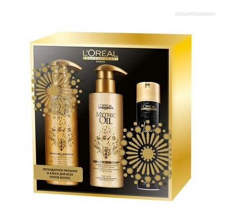 Набор Mythic Oil Souffle D'Or от L'oreal
