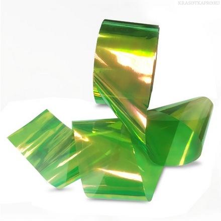 «Битое стекло» на гель лаке