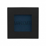 MAKEOVER PARIS, Тени для век Single Eyeshadow, Iridescent Dark Blue