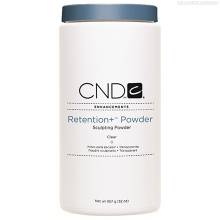 Фото CND Retention+ Powder Clear 907g