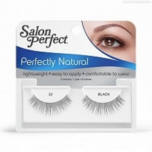 Фото Salon Perfect, Strip lash black, Ресницы черные № 52