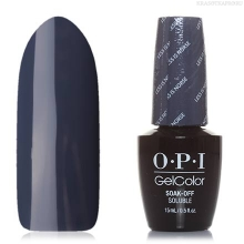 Фото OPI GelColor, Гель-лак Iceland GCI59, Less is Norse