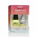 ORLY, Набор Perfect Pair Lacquer/Gel Duo Kit, 11 Glowstick
