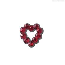 Фото Dashing Diva, 3D Jewels Hearts