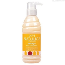 Фото OPI Avojuice Mango Lotion 200 ml