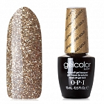 OPI GelColor, Гель-лак All Sparkly and Gold