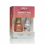 ORLY, Набор Perfect Pair Lacquer/Gel Duo Kit, 9 Bare Rose