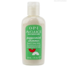 Фото OPI Avojuice Peppermint Shimmer Juice Lotion 30 ml