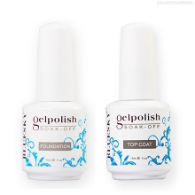 Фото Bluesky Gelish, набор Base Coat 15 ml+Top Coat 15 ml