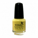 Konad, лак для стемпинга, цвет S05 Pastel Yellow 5 ml (пастельно-желтый)