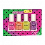 Color Club, Набор лаков Poptastic Remix Mini Gift Set (4 лака)