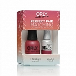 ORLY, Набор Perfect Pair Lacquer/Gel Duo Kit, 20 Hawaiian Punch