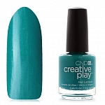 CND Creative Play, цвет Head Over Teal, 13,6 мл