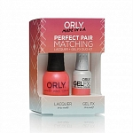 ORLY, Набор Perfect Pair Lacquer/Gel Duo Kit, 13 Hot Shot