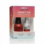 ORLY, Набор Perfect Pair Lacquer/Gel Duo Kit, 6 Monroe's Red