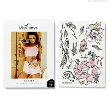 Miami Tattoos Набор переводных тату Garden by Nora Ink - купить в интернет-магазине КрасоткаПро
