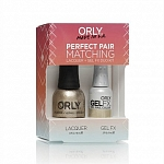 ORLY, Набор Perfect Pair Lacquer/Gel Duo Kit, 23 Luxe