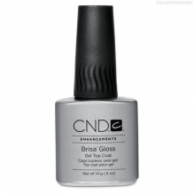 Фото CND Brisa UV Gloss Top Coat, Топ, 14 мл
