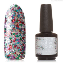 Фото CND, Creative Play Gel №449, Glittabulous