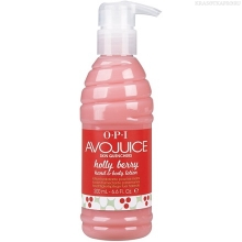 Фото OPI Avojuice Hand & Body Lotion Holiday Holly Berry 200 ml