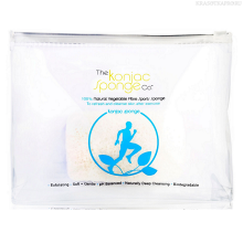 Фото The Konjac Sponge Company, Спонж Sports Konjac Sponge Blue