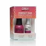ORLY, Набор Perfect Pair Lacquer/Gel Duo Kit, 8 Purple Crush