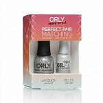 ORLY, Набор Perfect Pair Lacquer/Gel Duo Kit, 16 Tiara