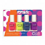 Color Club, Набор лаков Poptastic Mini Gift Set