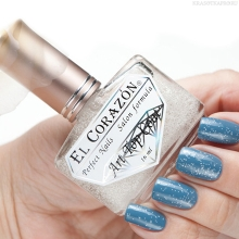 Фото El Corazon Art Top Coat, Snow Happiness № 421/10 (УЦЕНКА)