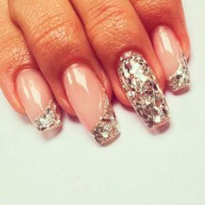 Дизайн ногтей.слюда
