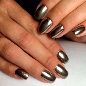 Матовый Шеллак Фото На Короткие Ногти
